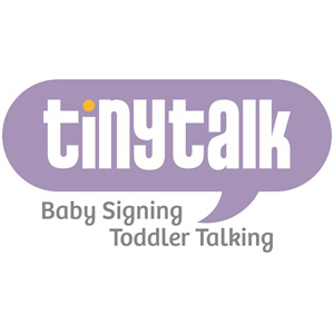 TINY TALK BABY SIGNING AND TODDLER TALK logo image