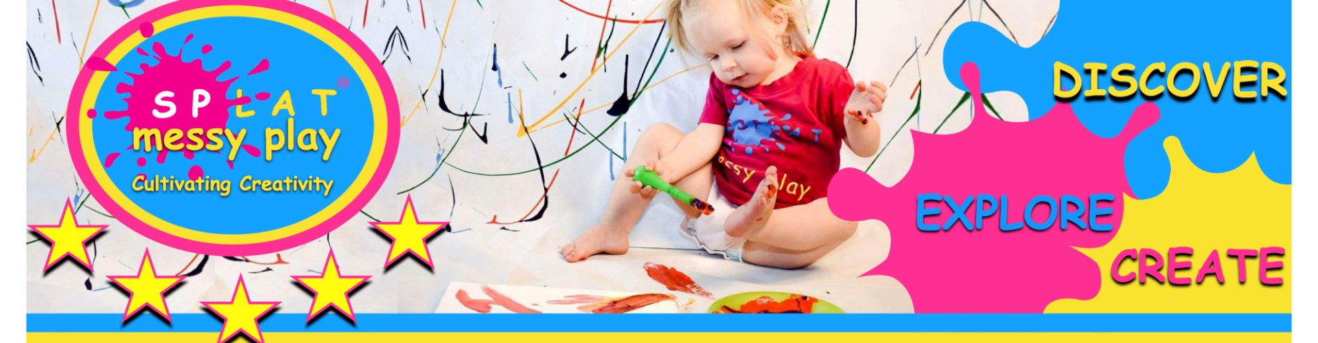 SPLAT MESSY PLAY background image