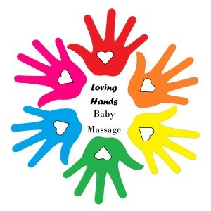 LOVING HANDS BABY MASSAGE logo image
