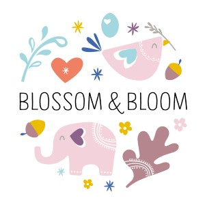 BLOSSOM AND BLOOM logo image