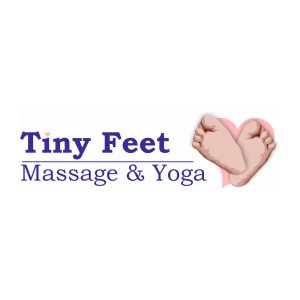 TINY FEET MASSAGE logo image